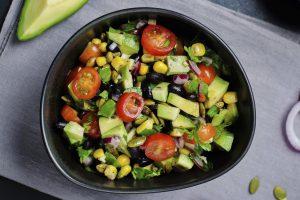 An example of a Mediterranean Sheridan OneCard Salad.