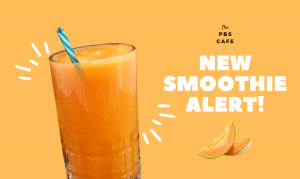 Muskmelon smoothie ad