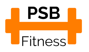 PBS Fitness logo with orange weight