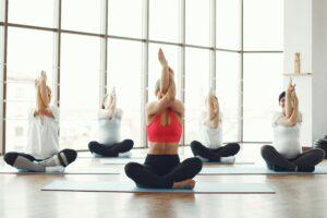 Yoga Classes reduce stress
